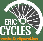 Logotype de Eric Cycles, Magasin de vélo à Vichy dans l'Allier