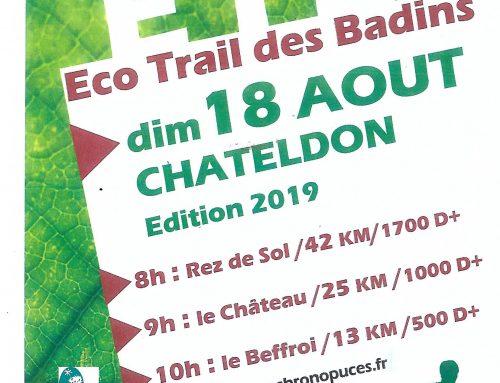 Eco Trail des Badins